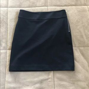 Banana Republic Navy Blue Skirt Size 0 Petite